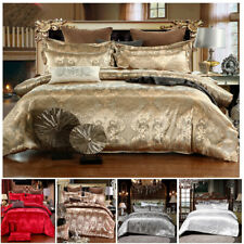 Three-piece Wedding Bedding European-style Jacquard Duvet Cover Luxury Bedroom