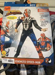 Spider-Man Maximum Venom Boys Costume Size 8-10