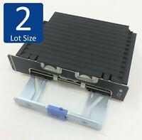 Lot of 2 Dell XKF54 PowerEdge R920 Memory Riser Board w/ 2MGRW Bracket RAM Blank