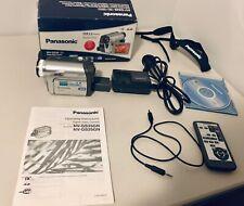 Panasonic NV-GS25 MiniDV Tape Camera Camcorder Recorder Handycam+ Accessories