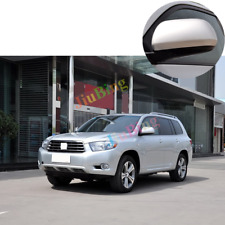 For Toyota Highlander 2008-13 Silver Left Driver Side Rearview Rear View Mirror