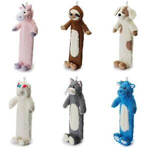 Warmies Kids Children's Huggable Hot Water Bottle And Removable Animal Cover