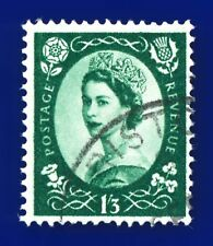 1958 SG585 1s3d Green Wmk MC S144 Fine Used ayqf
