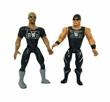 VTG WCW NWO Hollywood Hogan Dennis Rodman 2-Pack Figures  WWF WWE Wrestling 1997