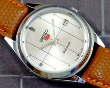 New listing VINTAGE UNUSED SEIKO 5 CAL.6309 AUTOMATIC WITH DATE JAPAN MEN'S WATCH #5-02621