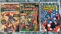 Captain America Bronze Age Lot 186 216 6 Annual Falcon Human Torch Marvel