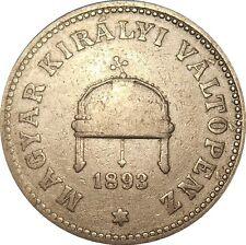 Hungary 20 Filler 1893 KB KM#483 Franz Joseph I (3540)