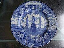 Assiette New York City Fine Staffordshire ware Ø 25,5 cm England très bon état