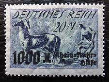 Deutsches Reich 260 V * , Plattenfehler , Rhein- und Ruhrhilfe