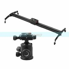 "LIFEI 40"" 100cm Track Dolly Slider Rail Stabilizer+One 360° Ball Head for Camera"