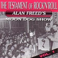 V.A. - ALAN FREED'S MOON DOG SHOW - The Testament of Rock 'N' Roll CD