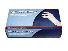 Disposable Powder Free Vinyl Exam Gloves 100/bx X-Large