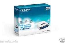 Brand NEW TP-LINK TL-PS110P Single Parallel Port Fast Ethernet Print Server LAN
