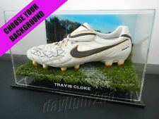 ✺Signed✺ TRAVIS CLOKE Match Worn Boot SIGNED COA Collingwood Magpies 2017