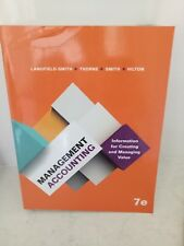 Management Accounting: Information for Creating Managing Value Langfield 7e NEW