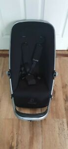 Quinny buzz 3/ 4 Seat Unit in black including  harness straps with pads
