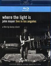 "JOHN MAYER ""WHERE THE LIGHT IS LIVE IN..."" BLU RAY NEU"