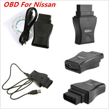 Diagnostic Scan Tool 14Pin OBD2 DDL USB Interface Code Reader For Nissan 89-2000