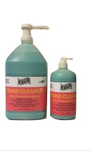 FGA Pumice Mechanic Hand Cleaner Gallon & Quart with Pump Natural Lemon Extracts