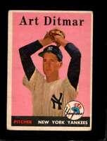 1958 TOPPS #354 ART DITMAR GOOD YANKEES *NY1888