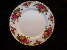 Royal Albert Old Country Roses Pattern White Bone China Salad / Dessert Plate