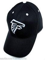 Atlanta Falcons NFL Sideline Hat Cap Black Out Gray White Logo Adult OSFA