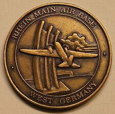 435th Fuels Management MAC Rhein Main AB West Germany Air Force Challenge Coin