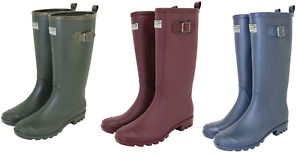 Town & Country Wellington Boots Lightweight PVC Fully Lined UK Size 4-10