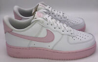 Nike Air Force 1 Low 07 Mens Casual Shoes CK7663 100 White Pink Foam Men's Sizes