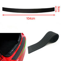 1pc Universal Car Rear Bumper Sill Protector Guard Pad Rubber Molding Trim Cover