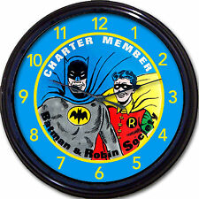 Batman & Robin Society Super Hero Gotham Superpower DC Comics Movie Wall Clock