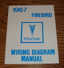 1967 Pontiac Firebird Wiring Diagram Manual 67