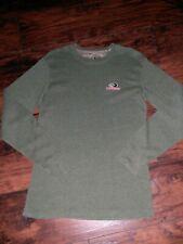 Mossy Oak Hunter Green Long Sleeve Thermal Shirt Size Small