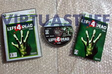 Left 4 Dead, Platinum Collection, Xbox 360, Microsoft, NTSC, JAP, excellent cond