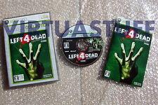 Left 4 Dead, Platinum Collection, Xbox 360, Microsoft, NTSC, JAP, excellent cond