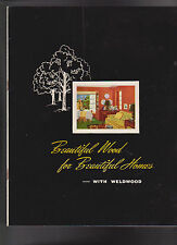 Beautiful Wood for Beautiful Homes with Weldwood 1944 US Plywood Co