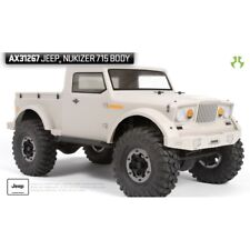 Axial AX31267 Axial Jeep Nukizer 715 .04 Inch Clear Body