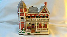 Lefton LATTIMORE HOUSE Colonial Christmas Village 10391 Holiday  1995  C2
