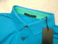 Greyson Golf Performance Fabric Katonah Blue Polo Golf Shirt NWT Large $95