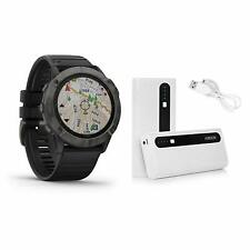 Garmin Fenix 6X Zafiro Reloj Carbono Gris Dlc Con Aibocn Batería 010-02157-10