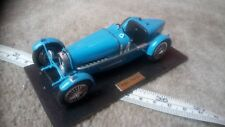 Bugatti Type 59 Voiture de course échelle 1/32, construit et monté Modèle pièces de rechange ou réparation