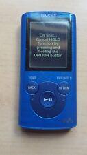Sony Walkman NWZ-E384 bleu (8 Go) Digital Media Player