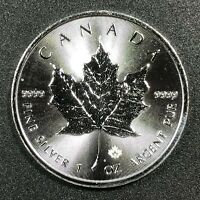 2016 CANADA MAPLE LEAF 1 OZ .9999 FINE SILVER MAPLE LEAF PRIVY MARK UNC BU (MR)
