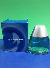 Avon BlueRush For Men/ Pour Homme 2.5 Oz Eau De Toilette Spray ~ Discontinued