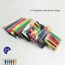 164Pcs 2:1 Heat Shrink Tubing Kit 5 Colors 8 Sizes Assorted Sleeving Wrap Wires