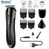 Professional Hair Clippers Mens Basic Barber Set Trimmer Shaver Cordless Cutter