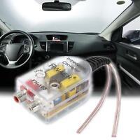 Auto High Low Adapter Verstärker Wandler Lautsprecher auf Cinch RCA Converter !