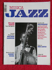 Rivista MUSICA JAZZ 12/2004 Ron Carter Luis Agudo Bennink William Parker No cd