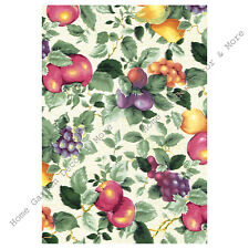 Country Tuscany Tuscan Fruit Grapes Vinyl Contact Paper Shelf Liner Peel Stick