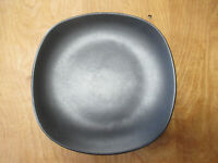 "Home Trends BLACK MATTE SQUARE Dinner Plate 10 1/2""    8 available"